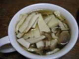 簡単ダイエットスープ キノコの低カロリーにんにくスープ