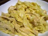 簡単ダイエットレシピ キャベツと鶏肉のカレーマヨ和え