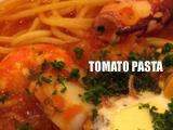 魚介のトマトスープパスタ
