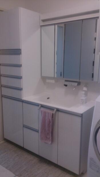 下 収納 台 洗面