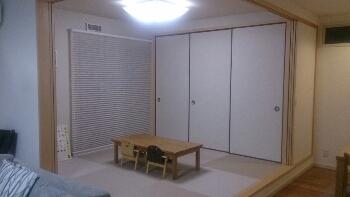 無印良品週間で購入した大物を、和室に設置しました。