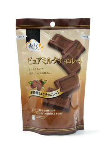 ピュアミルクチョコレート