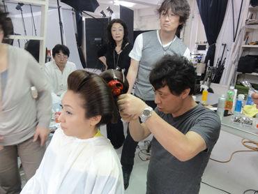 2012ヘアと帯結び撮影