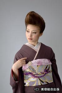 2012ヘアと帯結び