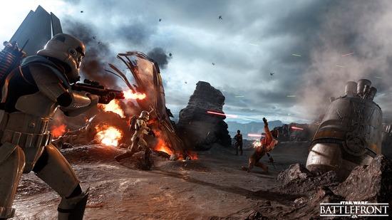 スターウォーズの最新作『Star Wars: Battlefront』のプレイ動画がかなりすごい!!(動画あり)