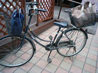 自転車の 自転車 吉祥寺 安い : ちょこキャリ日記 整理収納 ...