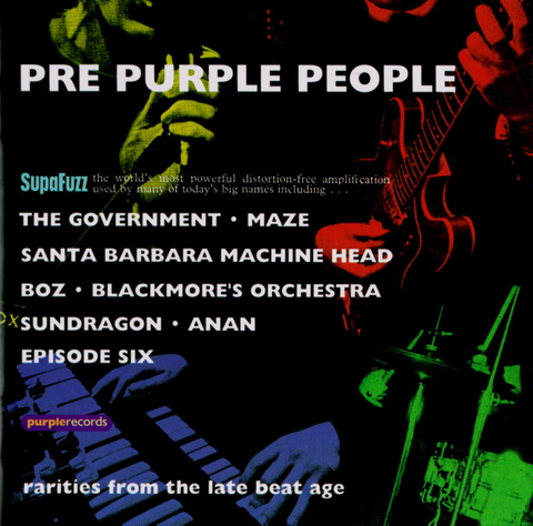 Various Artists - PRE-PURPLE PEOPLE (2001) CD f