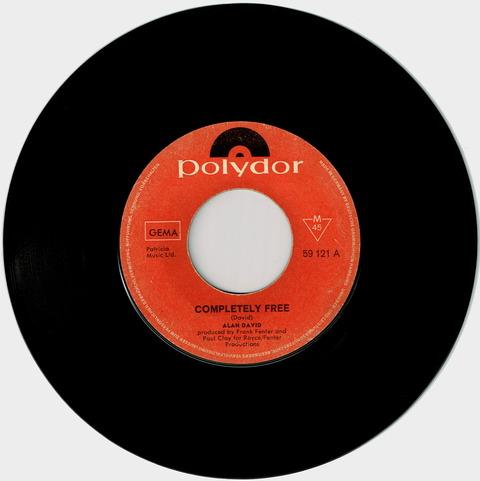 ALAN DAVID - COMPLETELY FREE (1967)