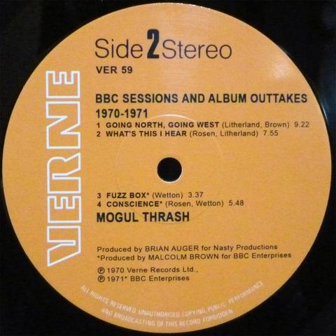 MOGUL THRASH - BBC SESSIONS 1970-1971 (2018) 2