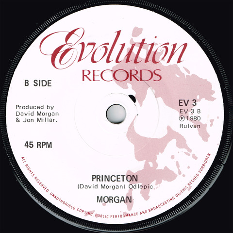 MORGAN - ONE MORE DAY - PRINCETON (1980) b
