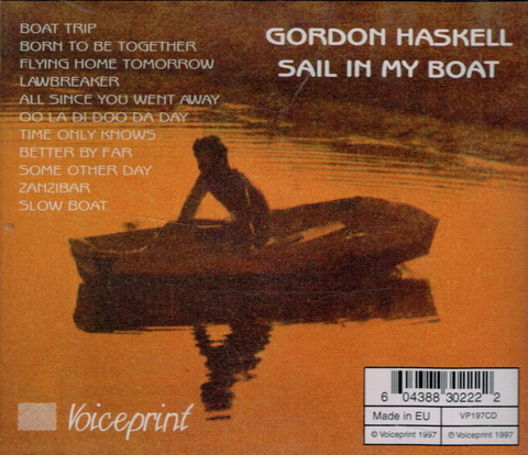 GORDON HASKELL - SAIL IN MY BOAT (1969) Reissue CD (1997) B