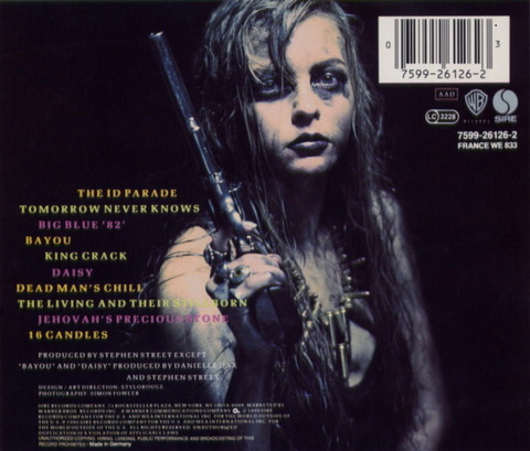 Danielle Dax - Blast The Human Flower (1990) b