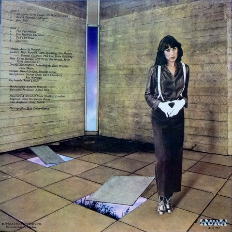 Annette Peacock - X Dream (1978) b