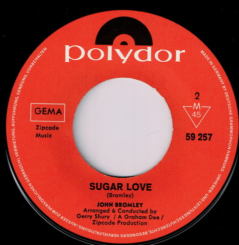 JOHN BROMLEY - SUGER LOVE (1968)