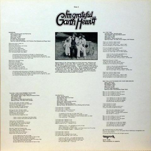 Garth Hewitt - I'm grateful (1978) i2