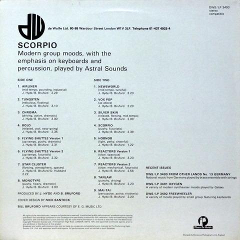 Bruford - SCORPIO (1982) b