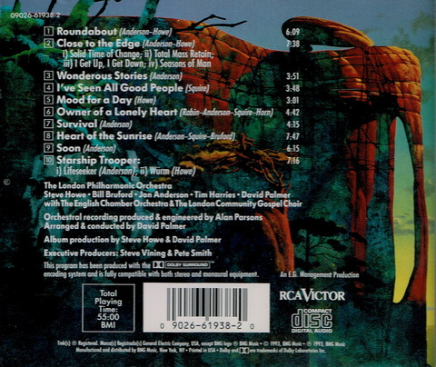 Symphonic Music of Yes (1993) b