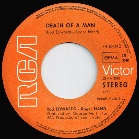 Edwards Hand - Death of man A