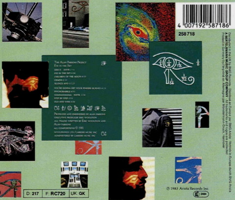 The Alan Parsons Project - Eye In The Sky (1982) b