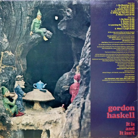 gordon haskell - It is and It isn't (1971) b
