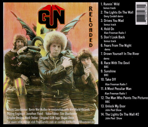 GUN - RELOADED (2007) CD+DVD b