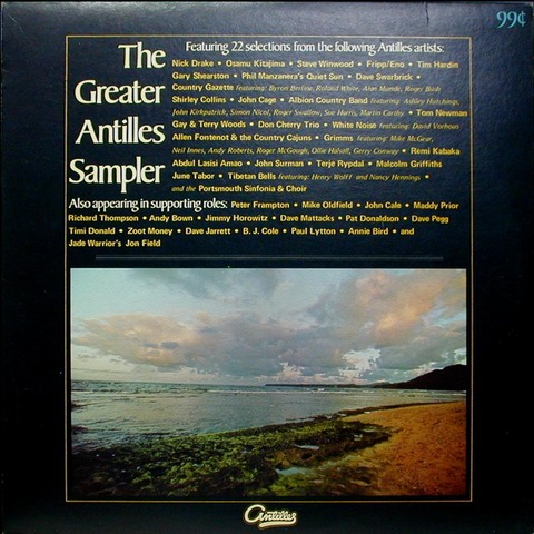 The Greater Antilles Sampler