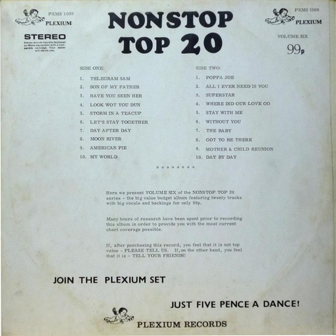 NONSTOP TOP 20 VOLUME SIX b