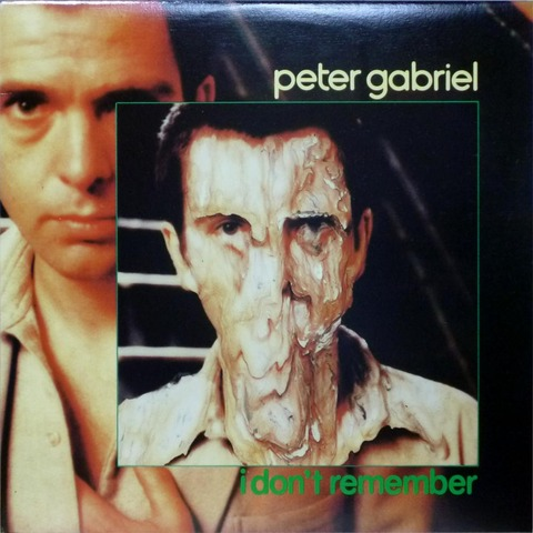 PETER GABRIEL - I DON'T REMEMBER 12INCH EP (1980) F