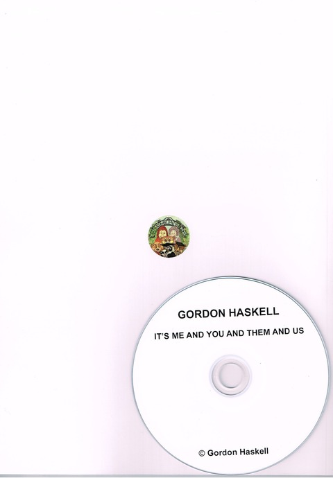 Gordon Haskell - THE IMPERTINENCE OF SALMON (2019) B