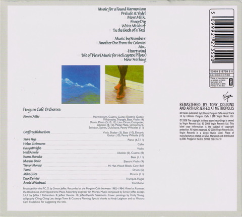 Penguin Cafe Orchestra - BROADCASTING FROM HOME (2008) B