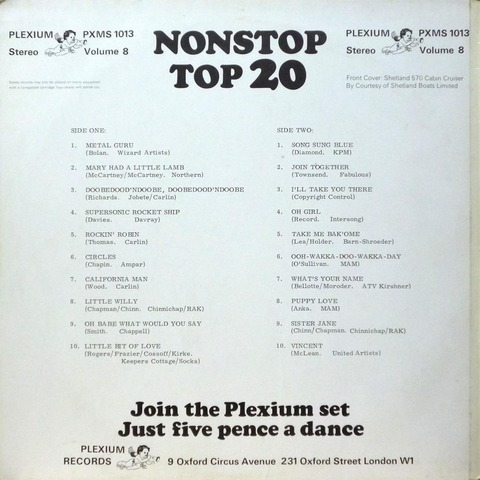 NONSTOP TOP 20 Volume 8 b