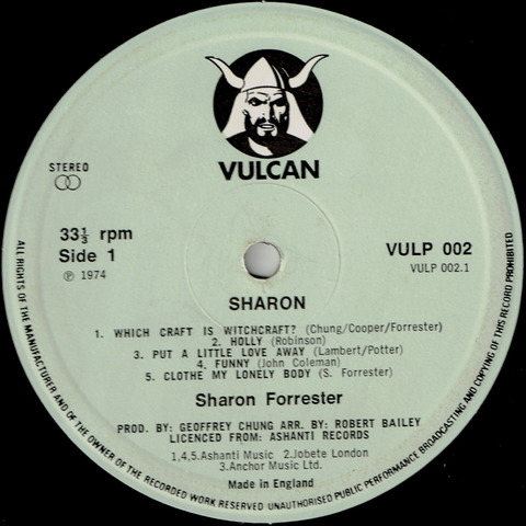 sharon forrester - Sharon A
