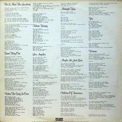 Michael Silver - Midnight Train (1980) b