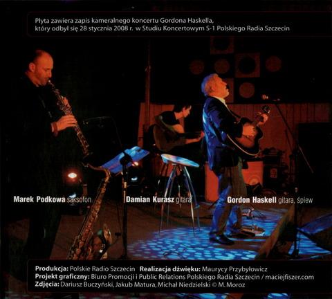 GORDON HASKELL w Szczecinie Live! (2008)i