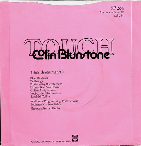 Colin Blunstone back