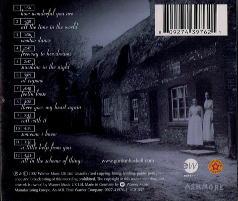 GORDON HASKELL - harry's bar (2002) b