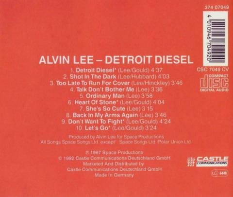 ALVEN LEE - DETROIT DIESEL (1986) B