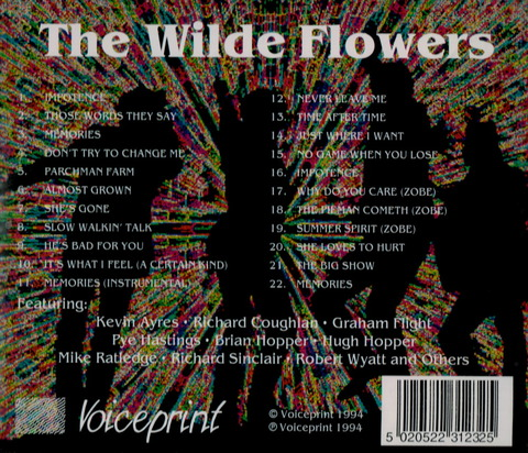 The Wilde Flowers (1994) CD b