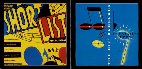 THE RIFF BURGLARS - SHORT LIST SWAG Reissue 2CD(2000) f