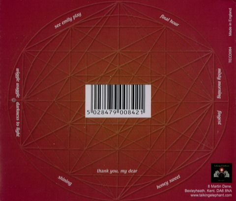 Judy Dyble - Spindle (2006) CD b