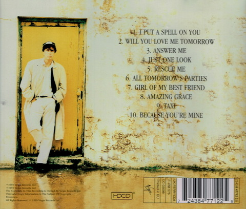 BRYAN FERRY - TAXI (1993), Remaster CD (1999) b