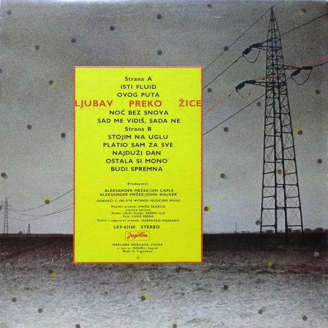 ALEKSANDER MEZEK - LJUBAV PREKO ZICE (1983) B