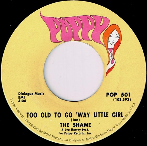The Shame - Too Old To Go 'Way Little Girl