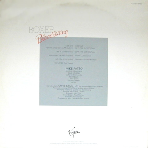 Boxer - Bloodletting (1979) B