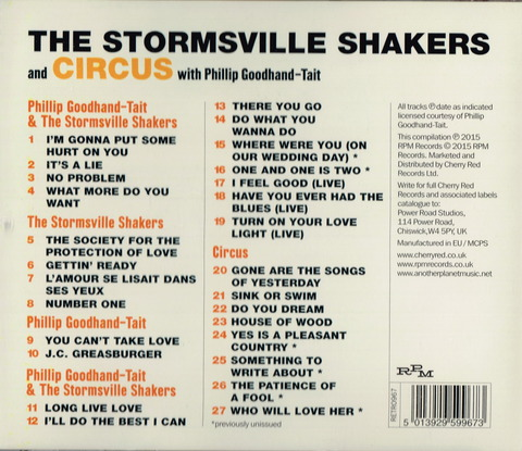 The Stormsville Shakers - One and One is Two (2012) B