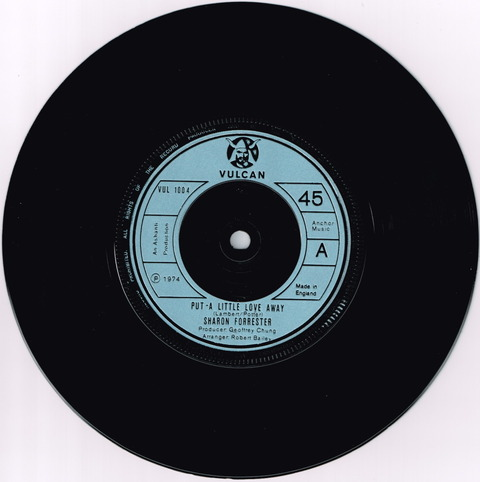 SHARON FORRESTER - PUT A LITTLE LOVE AWAY (1974) A