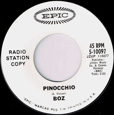 Boz - Pinnochio (US)