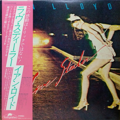 IAN LLOYD - LOVE STEALER (1979) F