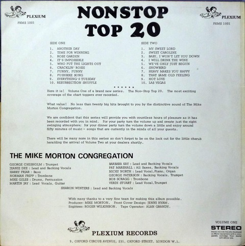 THE MIKE MORTON CONGREGATION - NONSTOP TOP 20 1b