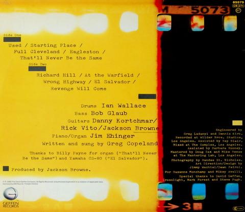 GREG COPELAND - REVENGE WILL COME (1982) b
